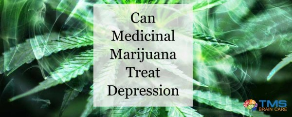Marijuana For Depression Treatment